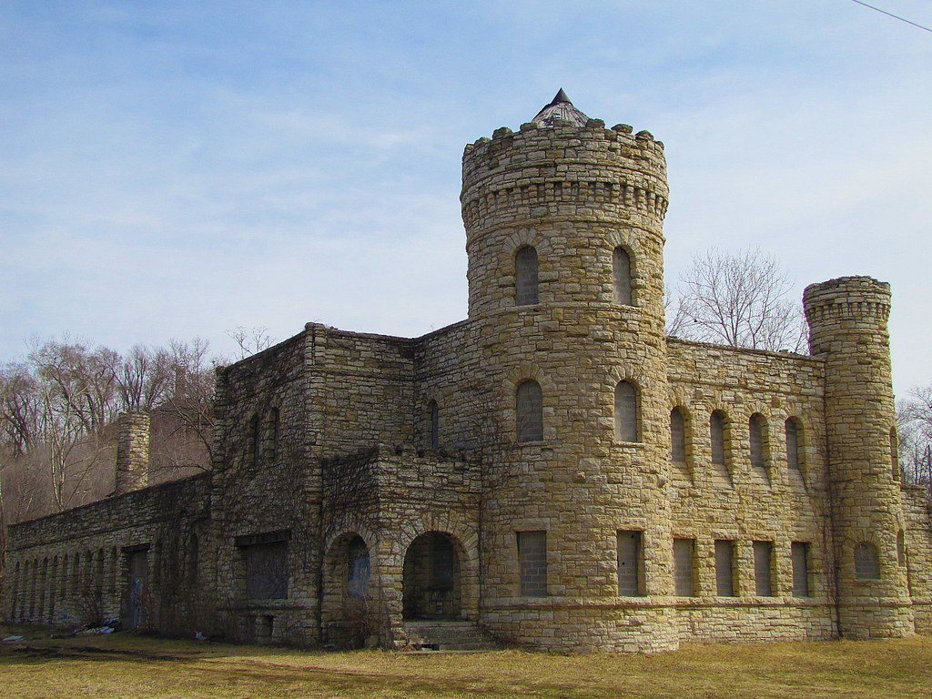 Kansas City Workhouse 1 Of 3 Castle Architecture In