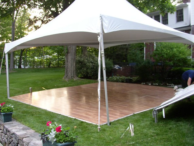 Tent With Dance Floor Dance Floors Are Usually Put Under