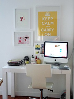 new desk | by sfgirlbybay