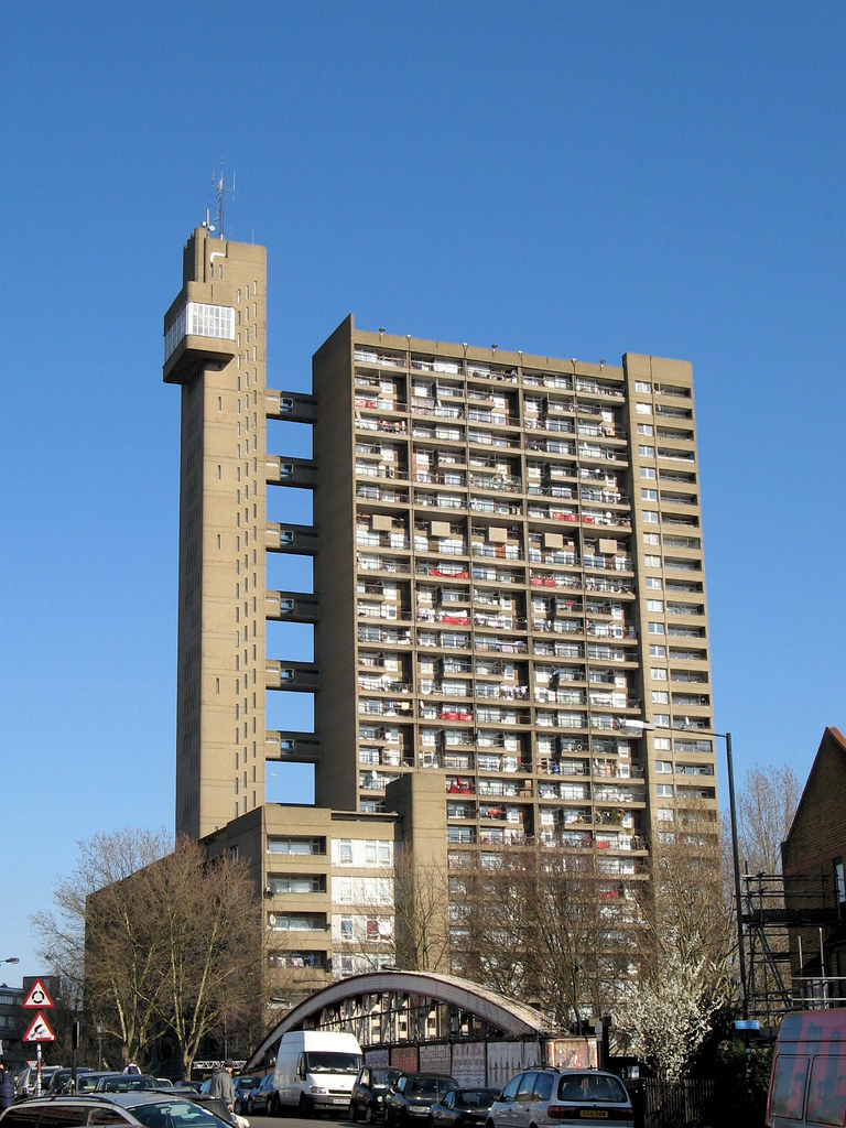 Trellick Tower The Grade Ii Listed Trellick Tower As