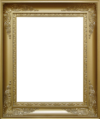 Goldener Bilderrahmen - gold picture frame | by eriwst