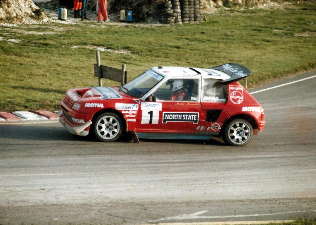 Matti Alam 228 Ki Peugeot 205 T16 Lydden Hill Rallycross Flickr