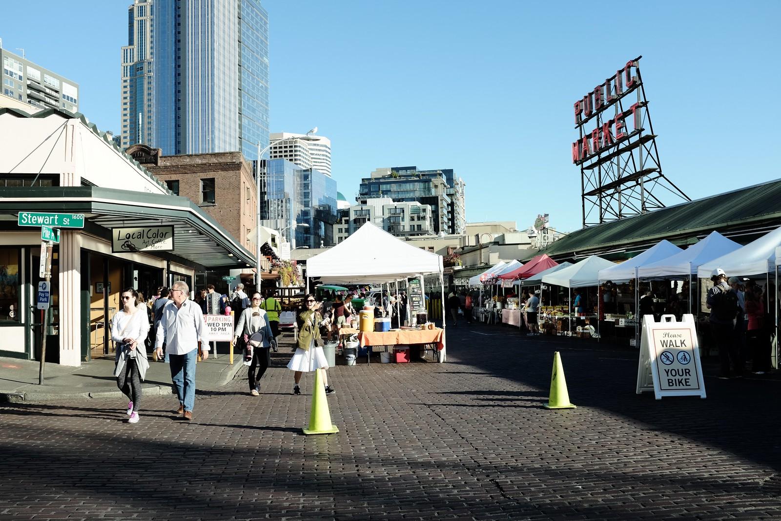 The Seattle taken by FUJIFILM X100S.