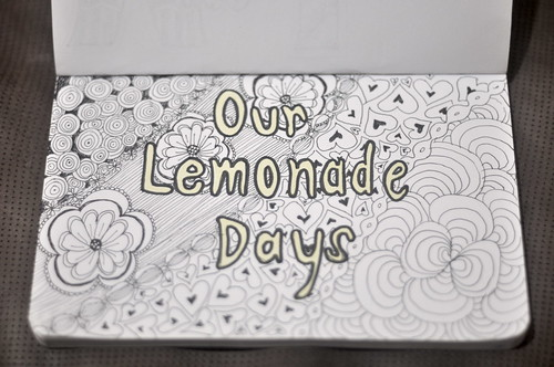 Zentangle Our Lemonade Days