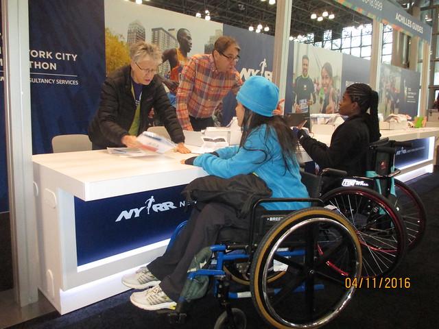 Achilles Venezuela en el NYC Marathon 2016