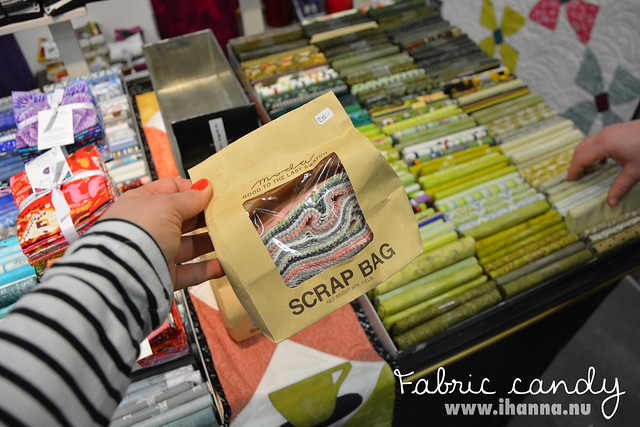 Fabric candy bag blogged by @ihanna #syfestivalen