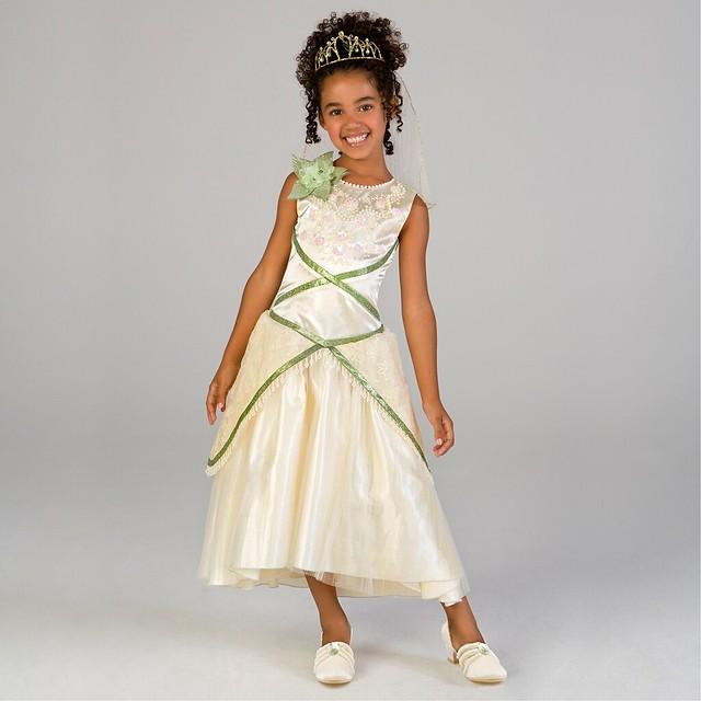 Princess Tiana Dress: The Princess And The Frog Deluxe Princess Tiana Wedding Dr