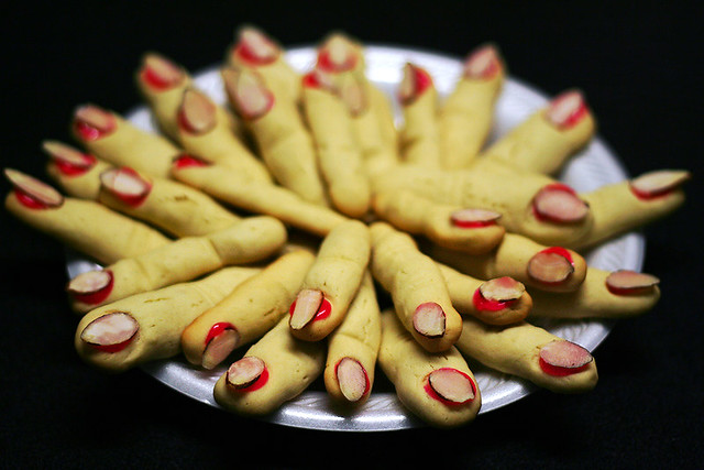 finger food a disturbing halloween snack brought in this. Black Bedroom Furniture Sets. Home Design Ideas