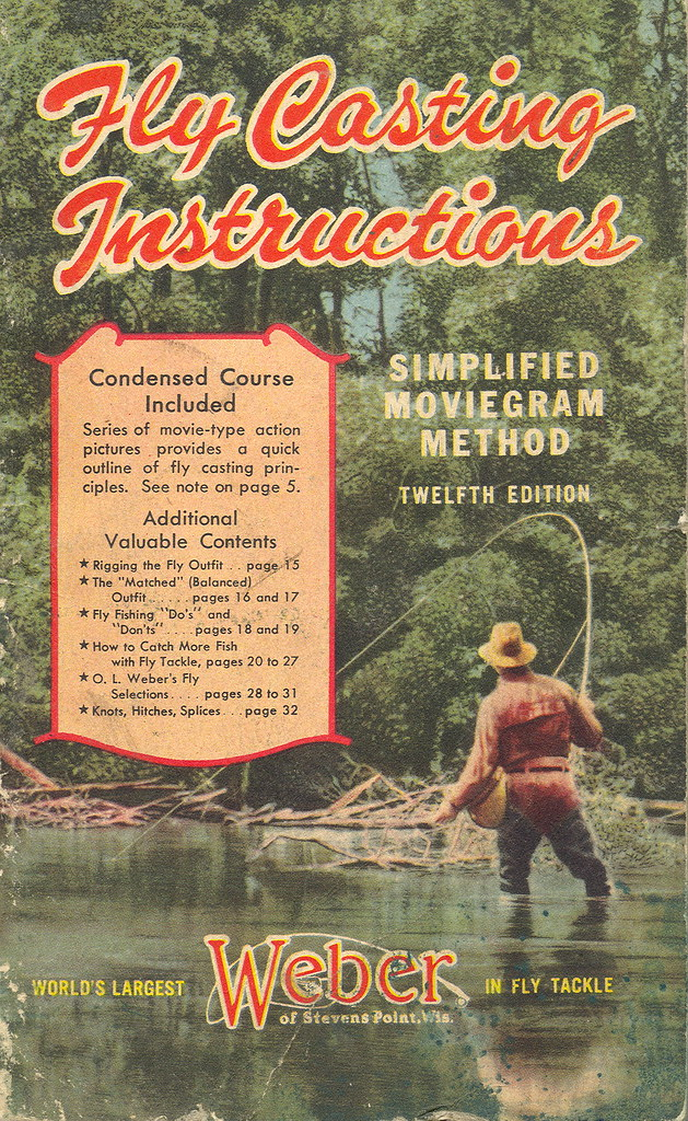 Fishing collectible fly fishing 1947 guide to fly casting for Fly fishing guide jobs