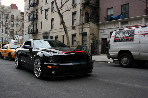 Kitt 2008 Knight Rider Driving Front Nyc Fast Lane Daily