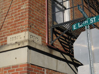 Cincinnati hidden history - Abigail Street sign at 12th & Spring | by bousinka