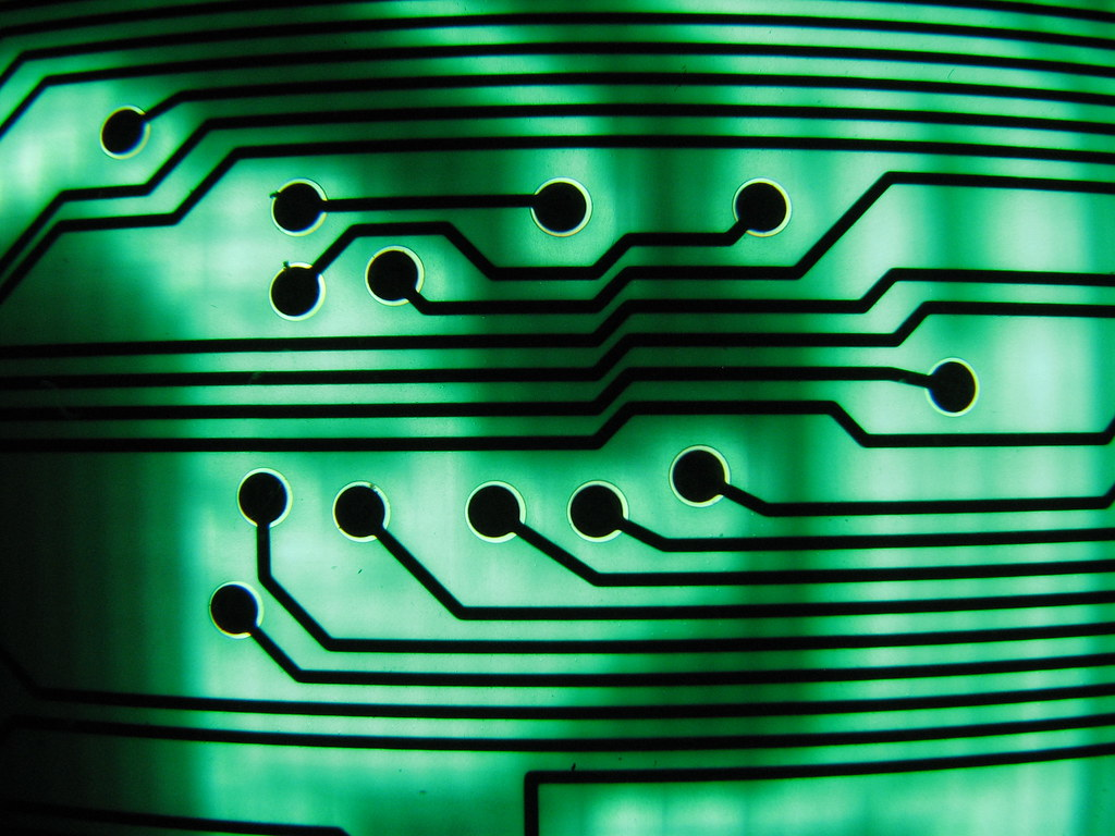 Green Circuit Board Ii I Love The Macro Capabilities Of Th Flickr Circuitboard Botheredbybees By