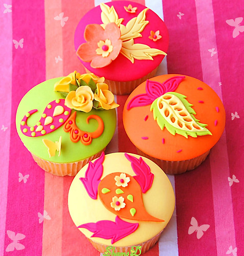 Vibrant Colours | by ~Très Chic Cupcakes by ShamsD~