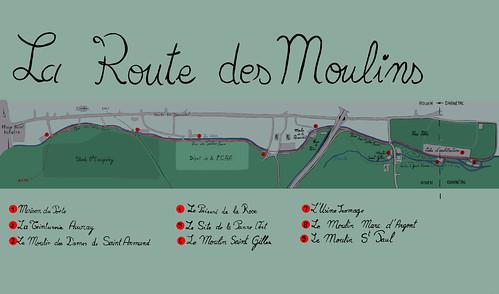 Plan de la route des moulins plan de la route des for Plan de moulins
