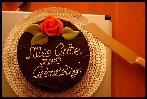 Alles Gute Zum Geburtstag Birthday Cake Konrad Flickr
