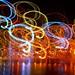 Melbourne Lights Figure 8 Camera Motion