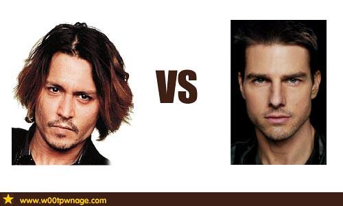 Johnny Depp vs Tom Cru...