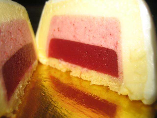 Blood Orange Mousse Cake