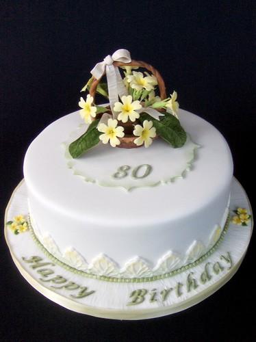 Happy Birthday Primrose This Is The Primrose Cake