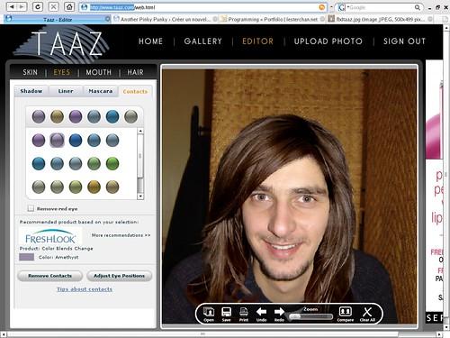 Taaz editor