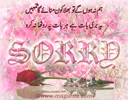 Sorry Card Images Sorry Card | by Urdu Cards