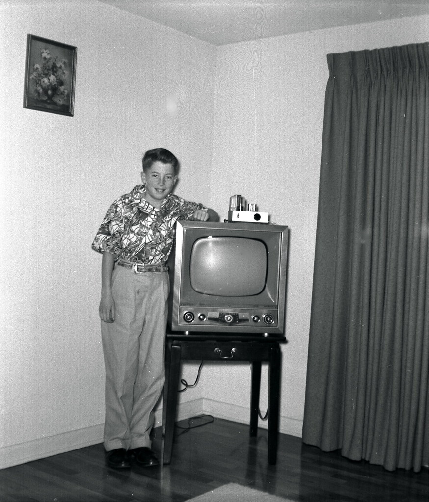 Image result for 1950s TV set