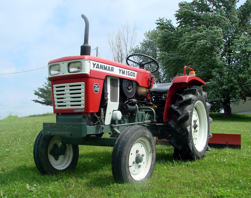 Japanese Tractor Tires : Yanmar tractor japanese with rice tires and