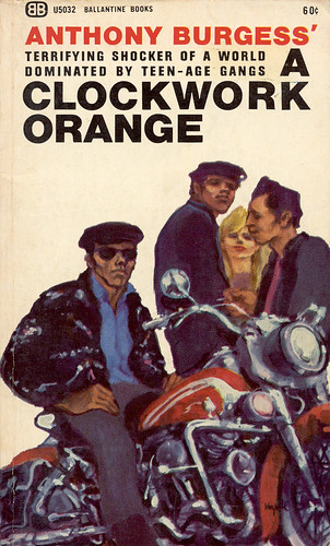 A Clockwork Orange, Anthony Burgess | by enso-on