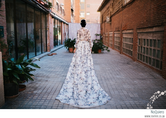 Urban bride styled wedding shoot