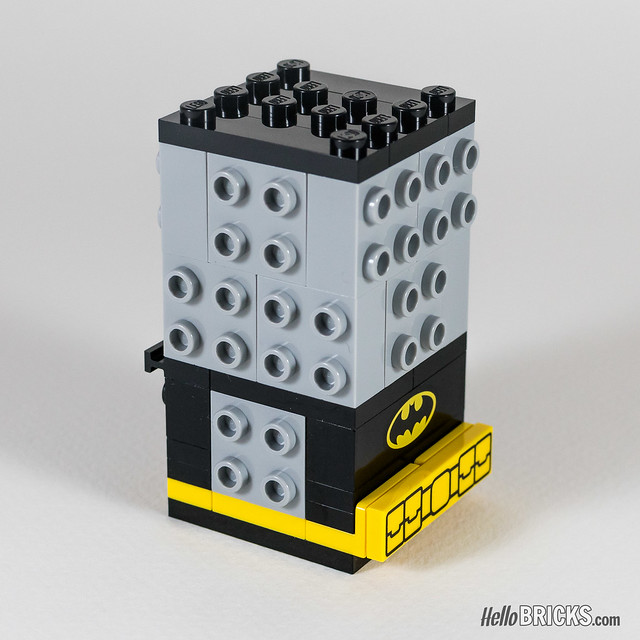 REVIEW LEGO BrickHeadz series 1 The LEGO Batman Movie 41585 Batman