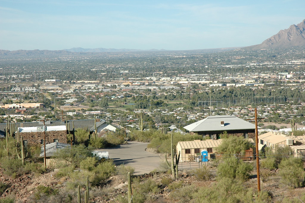 20071020 Tumamoc Hill | View of Tucson from the flanks of ...