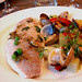 Sea bream with mussels