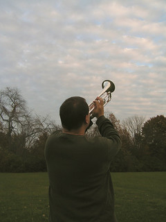52/366: Trumpeting to the Sky | by dramamath