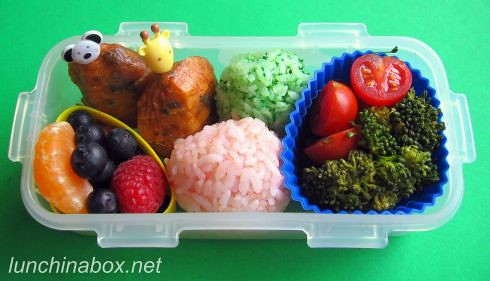 Fish cake lunch for preschooler | by Biggie*