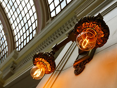 I loved these antique reproduction light bulbs | by calanan