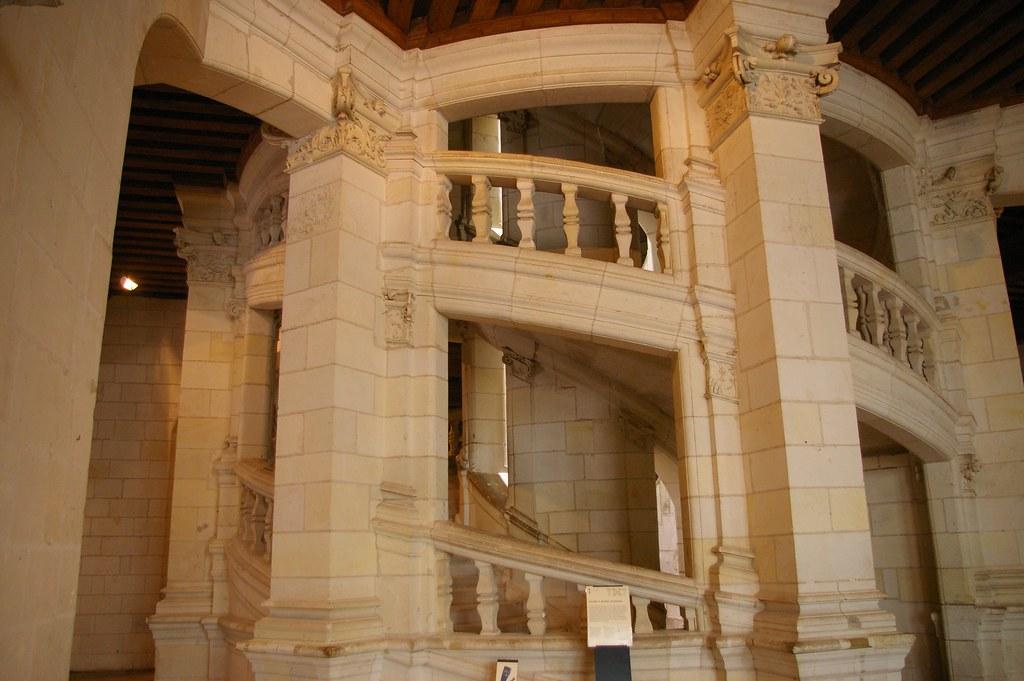 le ch 226 teau de chambord l escalier 224 doubles r 233 volutions d flickr
