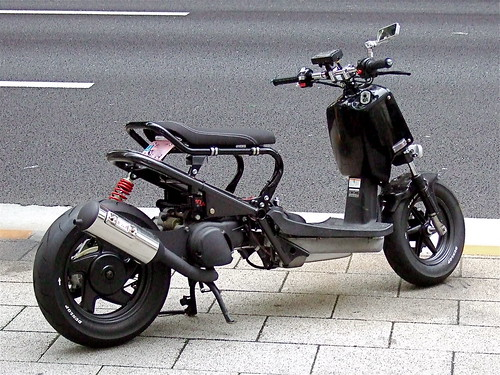 Zoomer with Grand Axis engine | by tokyoscooter