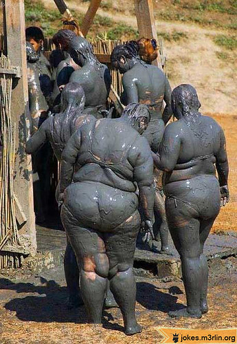 Answer, Mud covered chubby