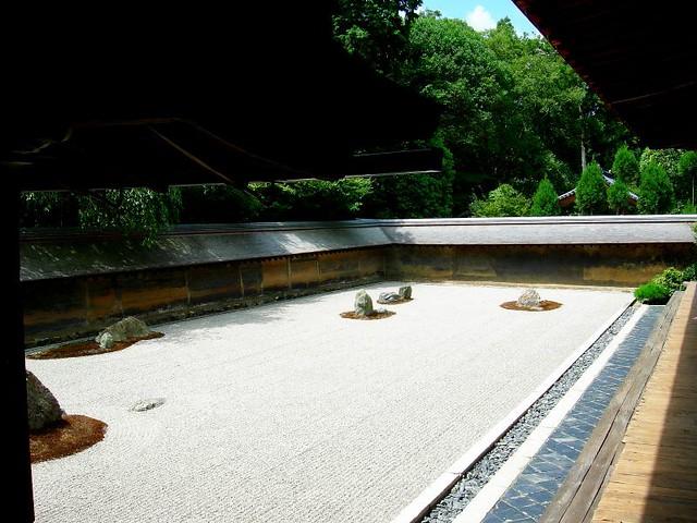 Giardino Zen Ry An Ji Kyoto Giardino Zen Costruito
