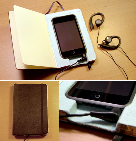 moleskine ipod case | by zzilch