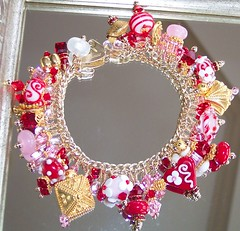 Estancia Designs Sweets for my Sweet Valentine's Bracelet | by estanciadesigns