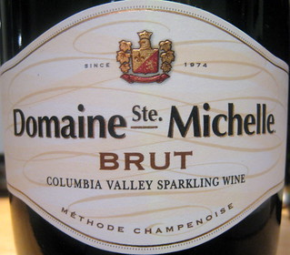 Domaine Ste. Michelle NV (front) | by 2 Guys Uncorked