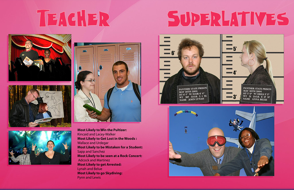 Teacher Superlatives | Teacher Superlatives page in the ...