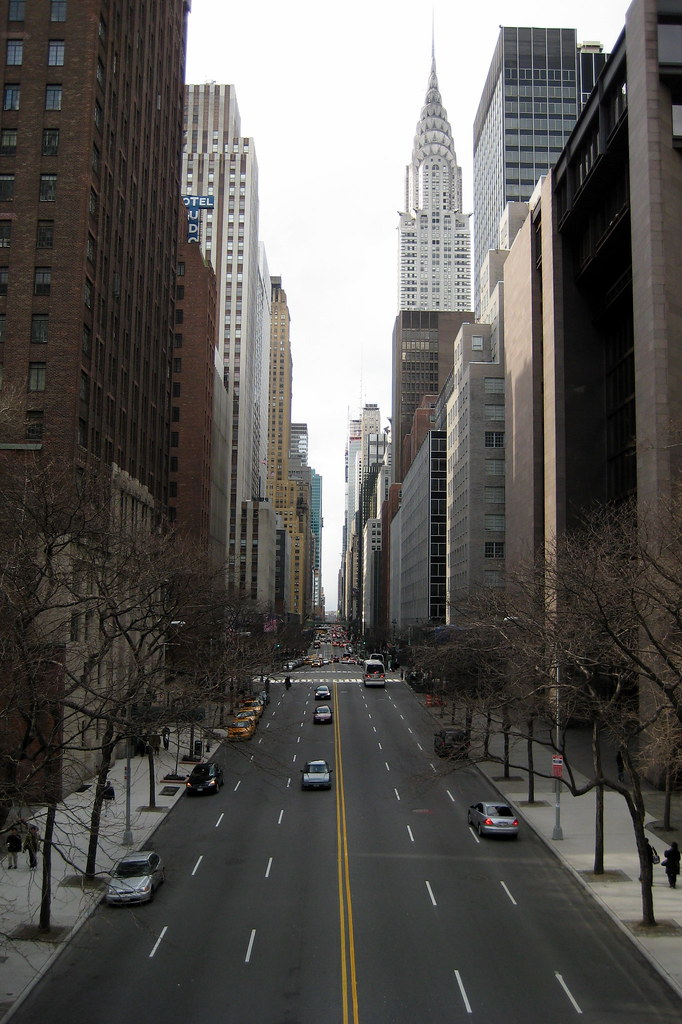 Nyc 42nd Street The Chrysler Building At 405
