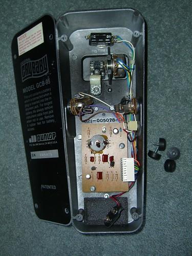 Dunlop Original Crybaby Wah Pedal Gcb 95 Dunlop