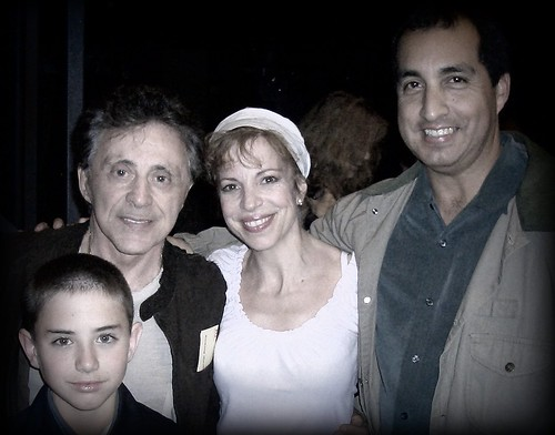 """Frankie Valli from the """"Four Season's"""" with son 