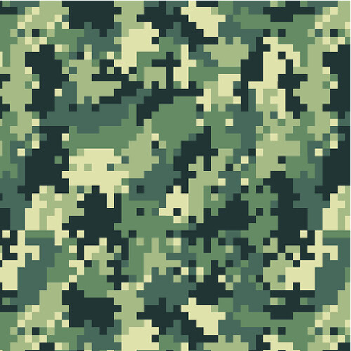 Digital Camo Pattern