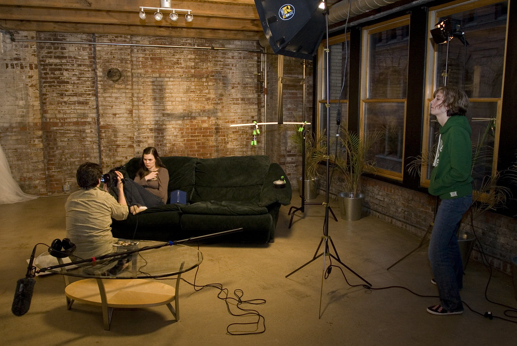 Living Room Movie Shoot Was Recently