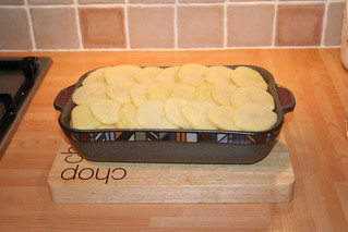 Lancashire Hot Pot - Add the second layer of potatoes | by Getty72