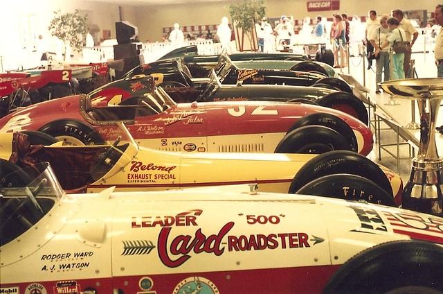 Indianapolis motor speedway museum 1991 atomic hot links for Indy motor speedway museum